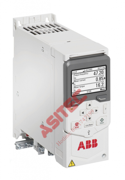 Biến tần ACS480 – 3 Phase 380VAC 2.2kw